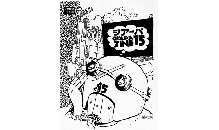 Rômolo's zine cover artwork