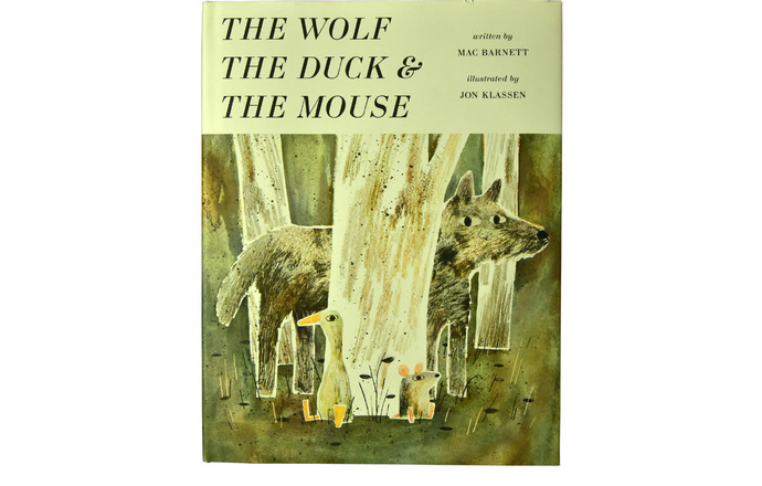 绘本:狼、鸭子和老鼠.1